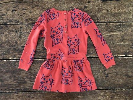 kids Nadadelazos Tie Dress - Anton the Cat