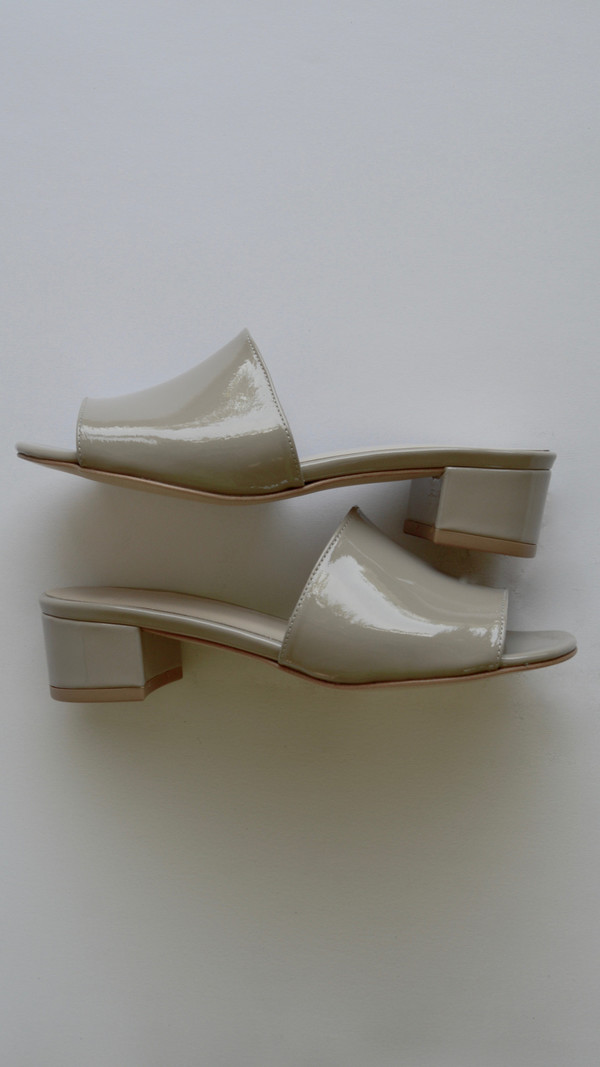 Maryam Nassir Zadeh Sophie Slide in Cement Patent