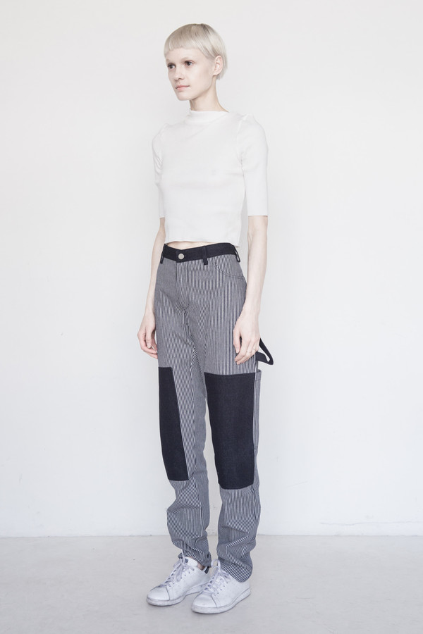 Nomia Cotton Combo Painter Pant