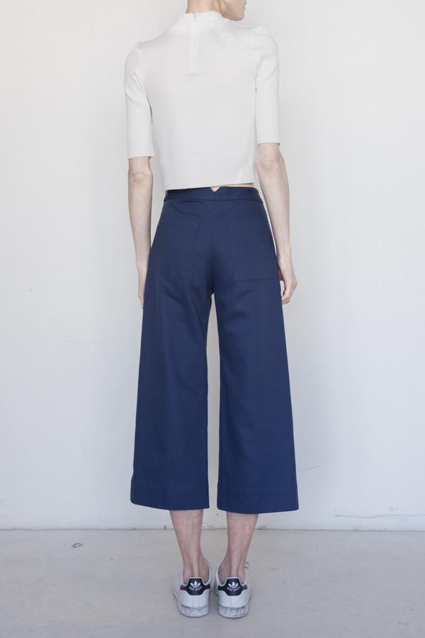Nomia Cotton Crop Wide Leg Pant