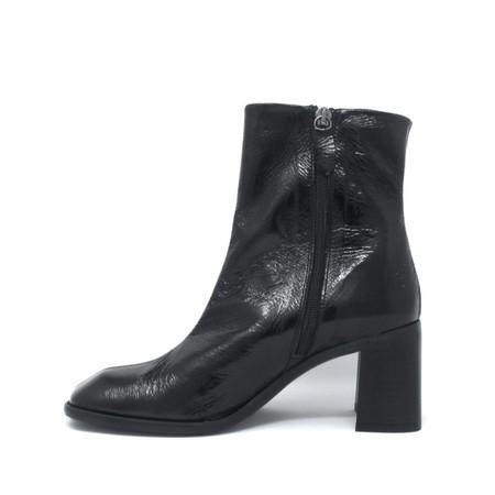 Miista Florentine Leather Boots - Black
