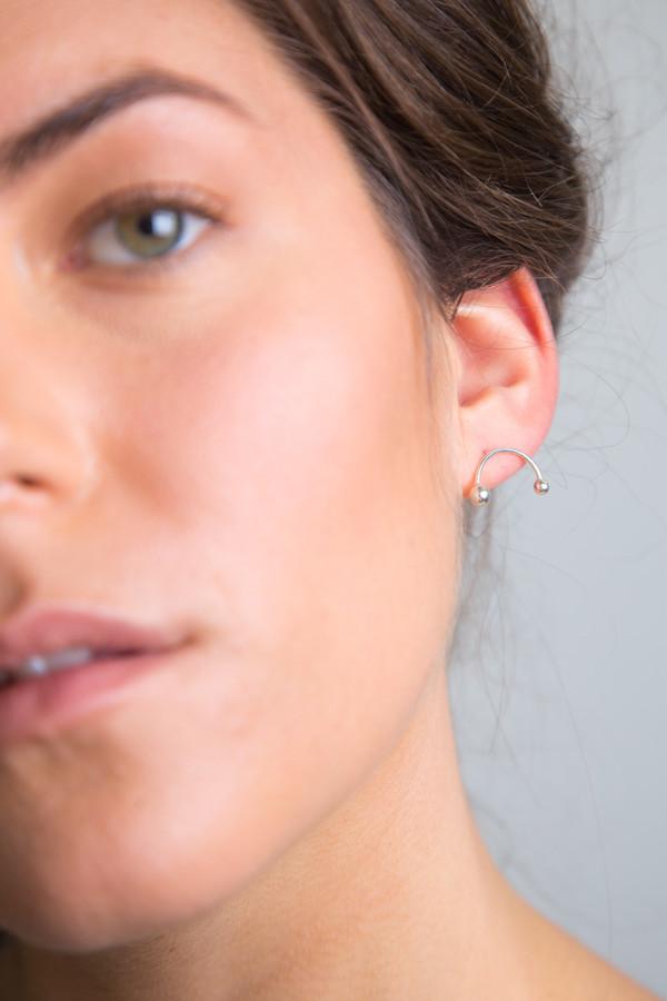 Katrine Kristensen - Silver Rainbow Earring Single