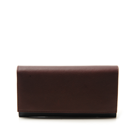 Burgundy Cream 10 Wallet by Tsatsas