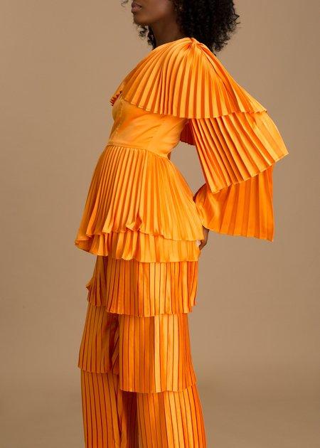Andrea Iyamah Tami Top - Orange
