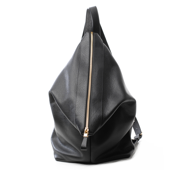 Atelier Marchal Candy Black Leather Backpack