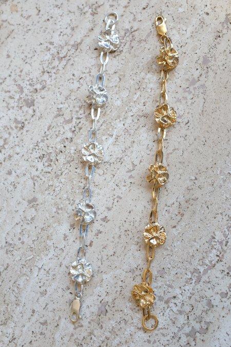 Leigh Miller Poppy Chain Bracelet - Sterling Silver