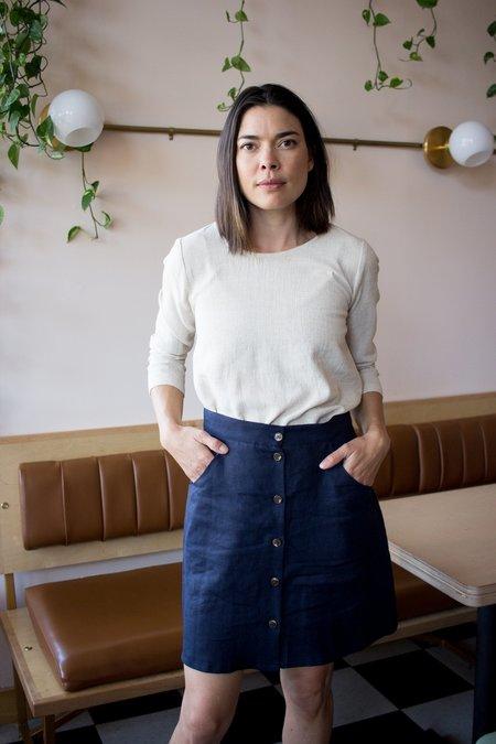 Amanda Moss Neala Top - Oatmeal