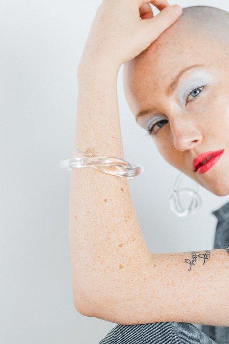 Corey Moranis Knot Bracelet - Clear