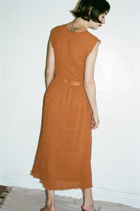Renaissance Censor Top - Burnt Orange