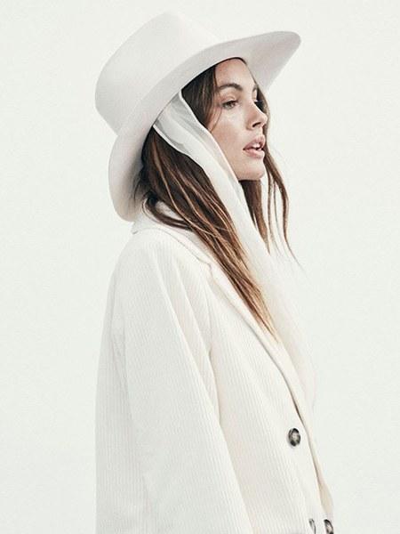 Janessa Leone Ellery Fedora - Snow White