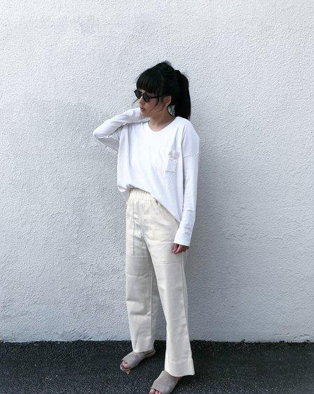 Skargorn #62 Long Sleeve Tee - White Wash