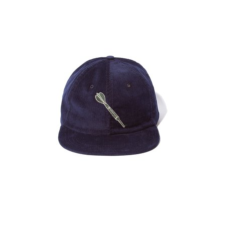Freemans Sporting Club 6- PANEL CAP - NAVY CORD DART