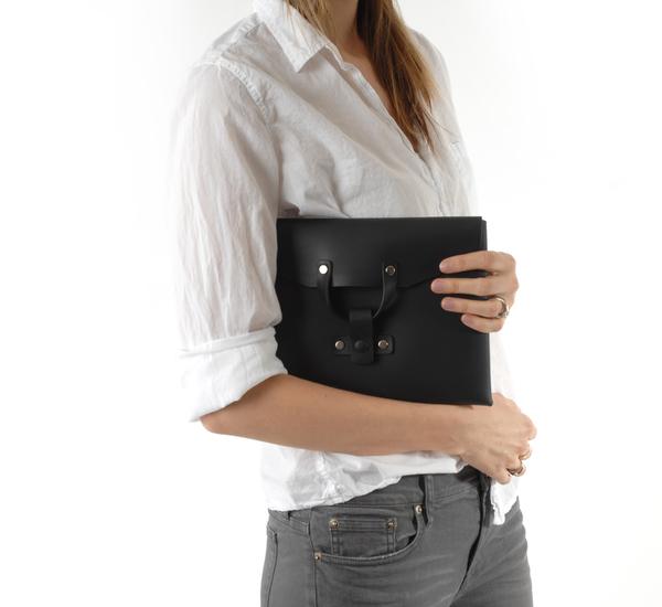 Bonastre H16 Black Medium Folder