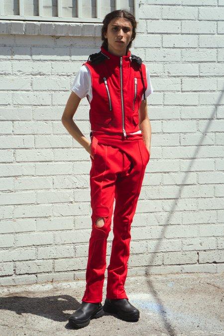 Adyar Cut-proof Kevlar Hug Vest - Red
