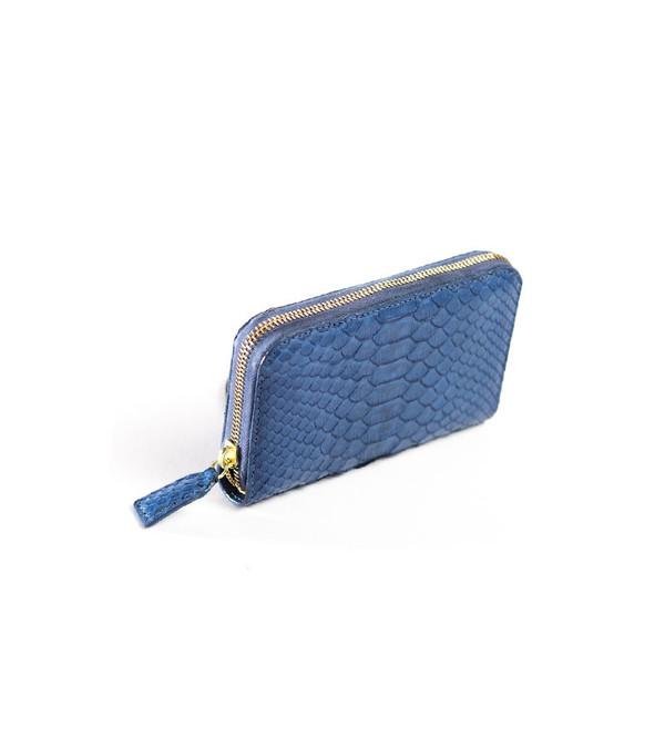MAPA Collective The Mini Zipper Wallet (Python)