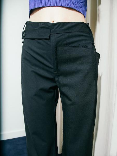 Shichuchi Map Pants - Black