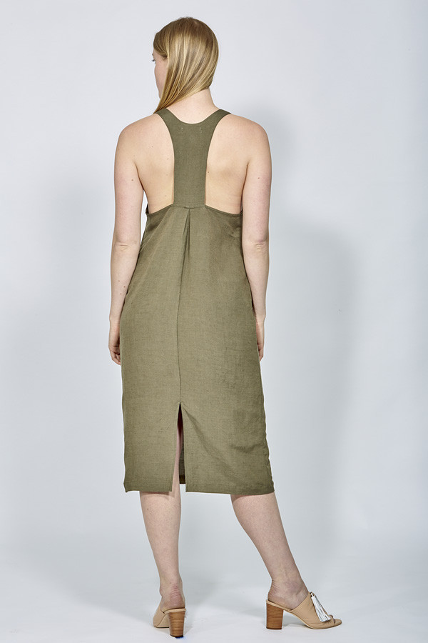 First Rite Drop Back Dress