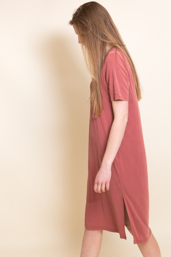 Just Female Pen Dress / Marsala Red