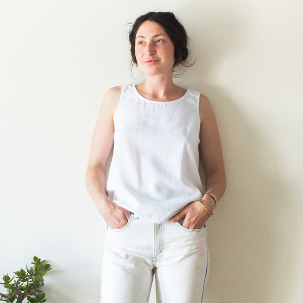 Unknown Basic Tank<br>White