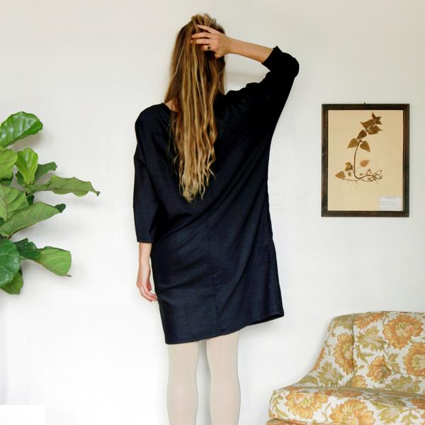 Unknown Dolman Dress<br>Stardust Speckle