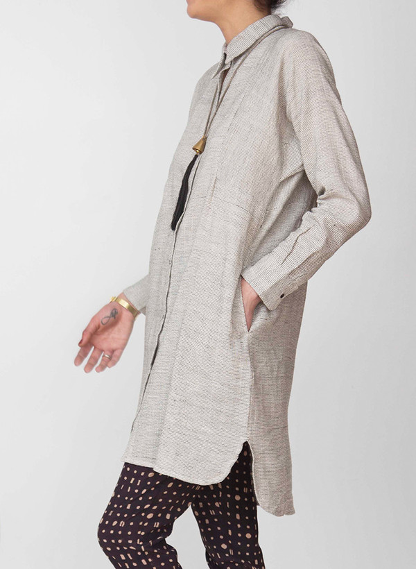Seek Collective Stevie Shirtdress