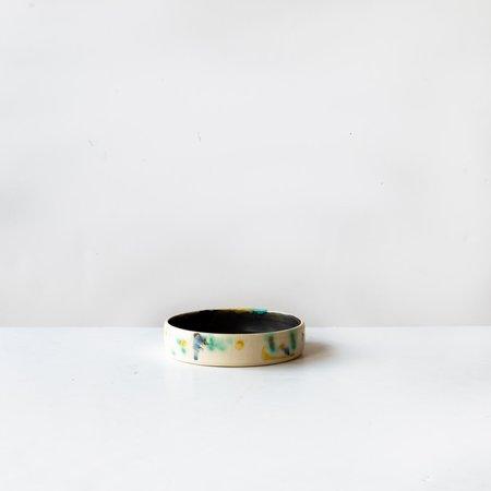 Makiko Hanabira Round Ceramic Tray