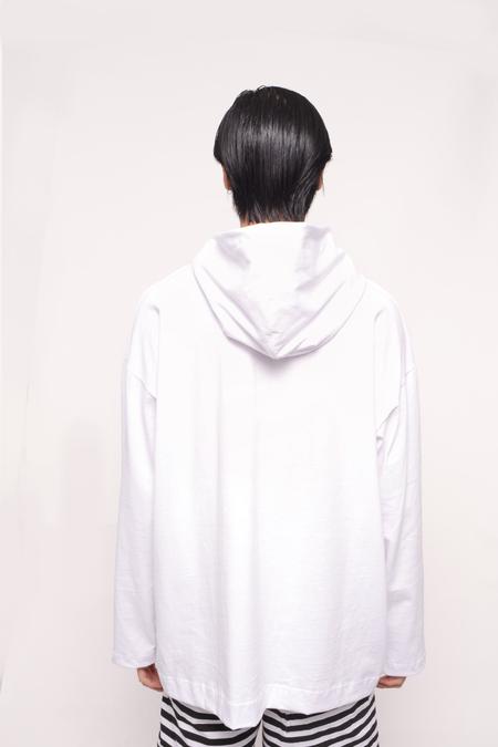 The Celect Jumbo Hoodie - white