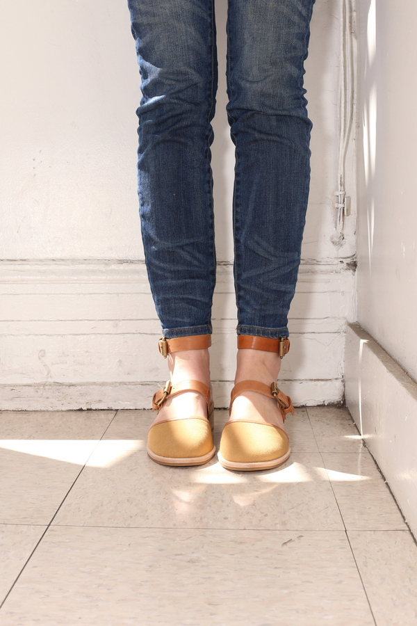 Intentionally Blank SHAPE TAN LEATHER
