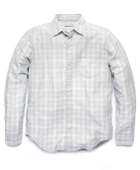 Outerknown Highline Shirt - Vapor Blue/Shady Plaid