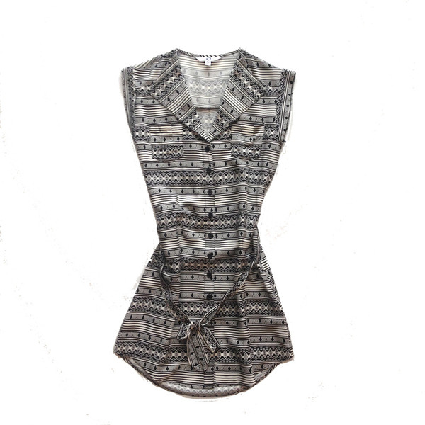 Jack Women's Hubert Printed Challis Dress