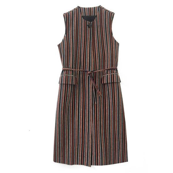 Nikki Chasin Niles Vest in Stripe