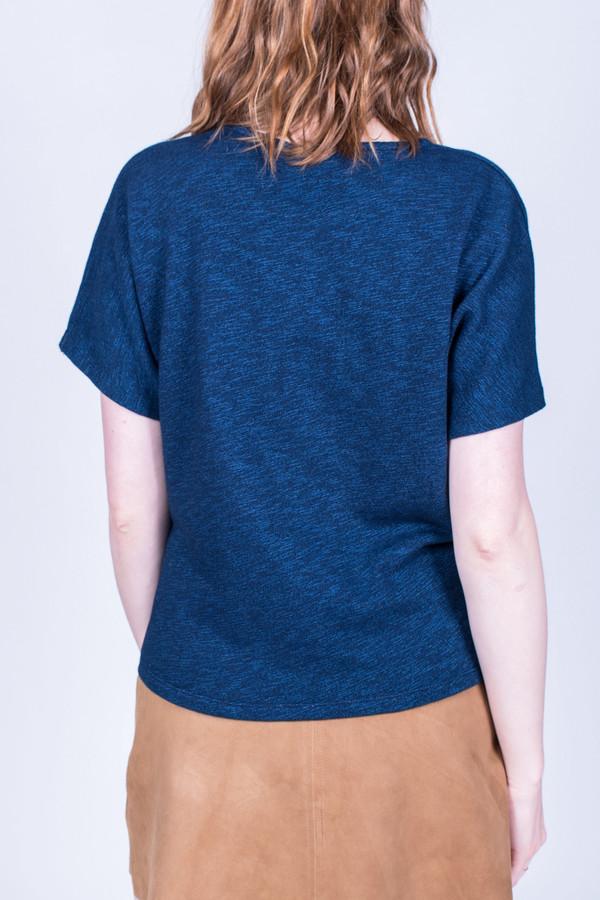 Maison Kitsune Square Tee Shirt Indigo