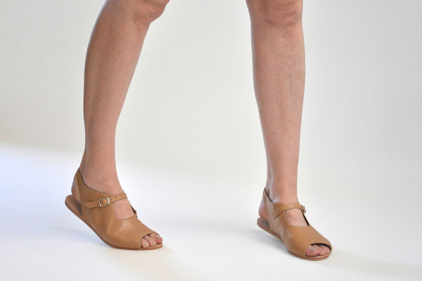 The Palatines Ratio sandal - Tan Leather