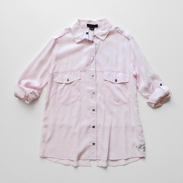 Sanctuary Boyfriend Shirt - Blush