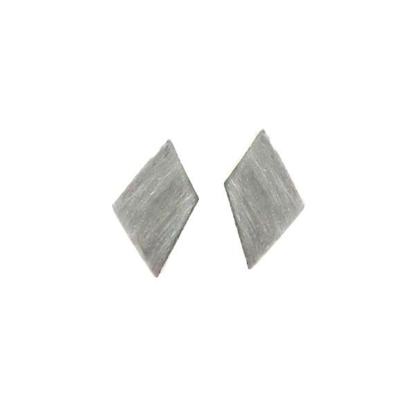 Emmy Trinh Jewelry Lovisa Diamond Earrings in Silver