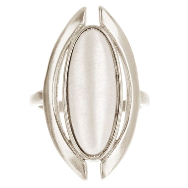 Tiffany Kunz Silver Duality Ring