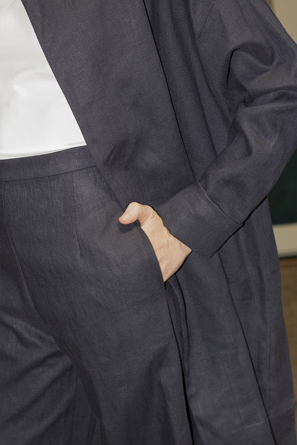 Sunja Link Linen Pants