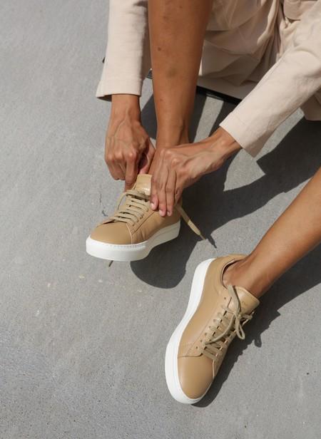 ZESPA HIGH NAPPA sneaker - SAVANE