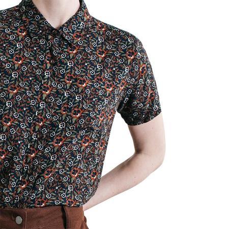 Bridge & Burn Greer shirt - Dark Floral