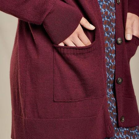Toad & Co Cassidy Cardigan - Port