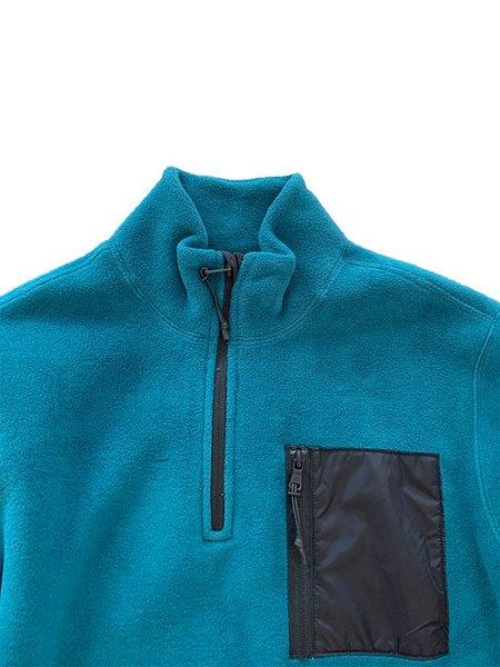 Champion Premium Reverse Weave Polartec Half Zip Top - Jade
