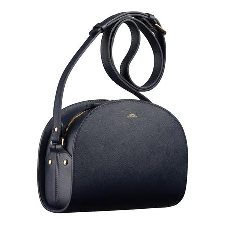 A.P.C. half-moon bag - Dark Navy