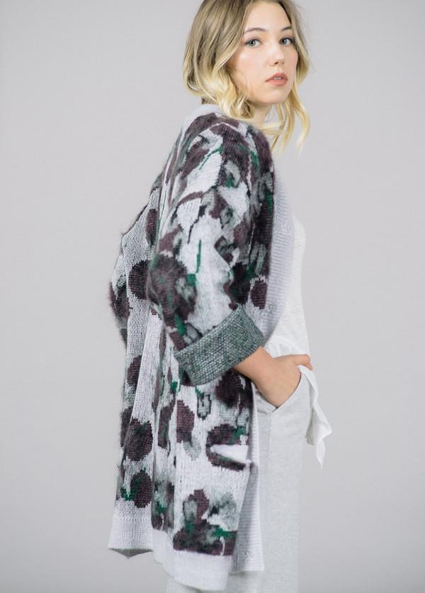 Baum und Pferdgarten Cloris Floral Sweater Cardigan