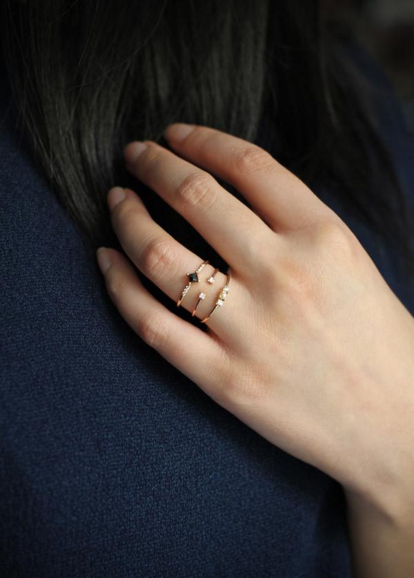 Diamond Accent Cuff Ring
