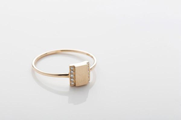 Jennie Kwon Designs Diamond Box Ring