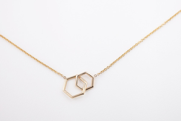 Hortense Together Hexagon Necklace