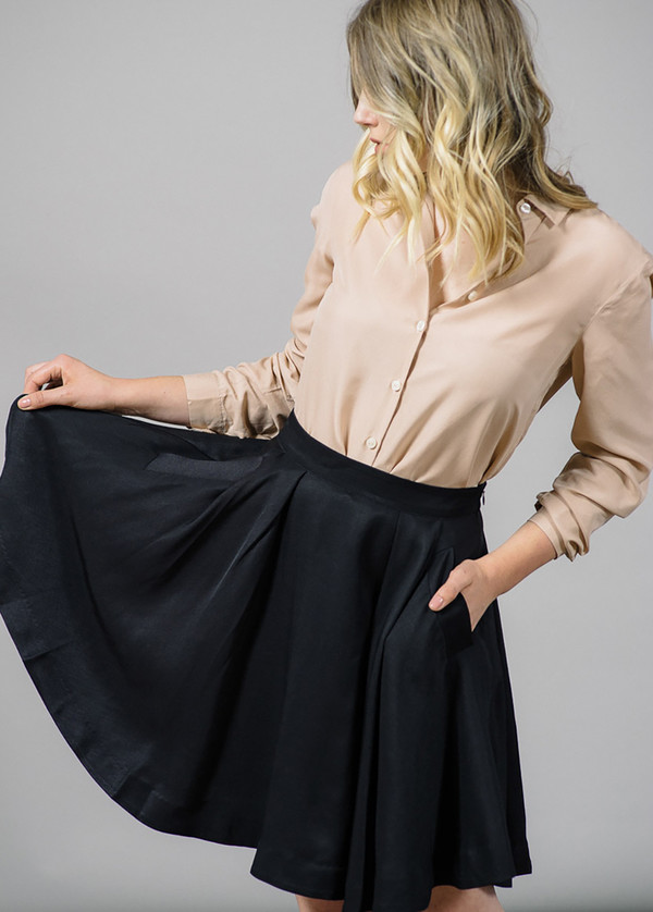 Whyred Vida Pleated Skirt
