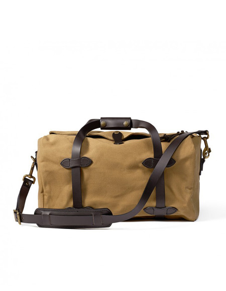 Filson Rugged Twill Small Duffle - Tan