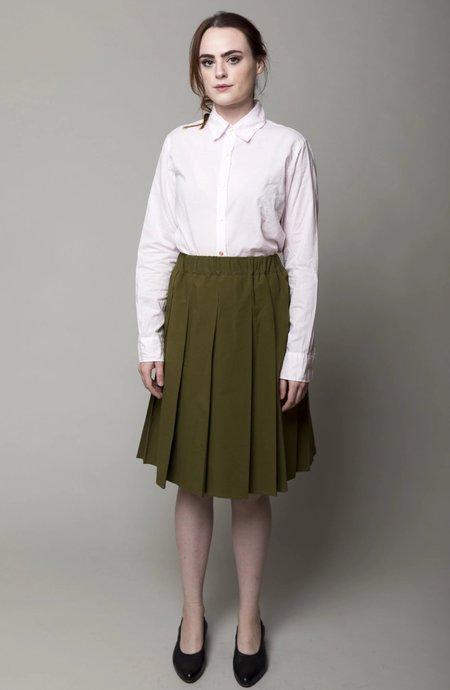 A Punto B Pleated Skirt - Grass Green