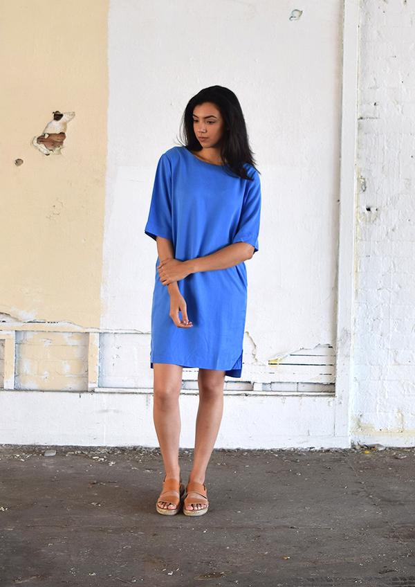 Yerse Perfect Blue Dress